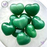 Green Aventurine Heart